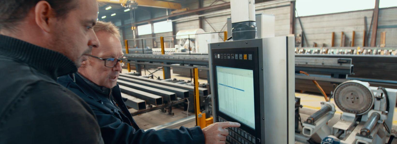 logiciel suivi production construction métallique installation et formation