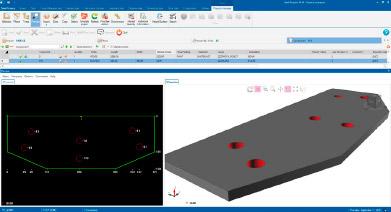 calcul structure métallique, visualisation 2d et 3d logiciel