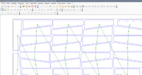 Sheet metal nesting software