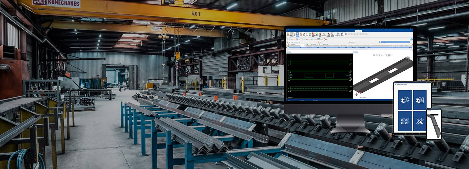 steel construction software features