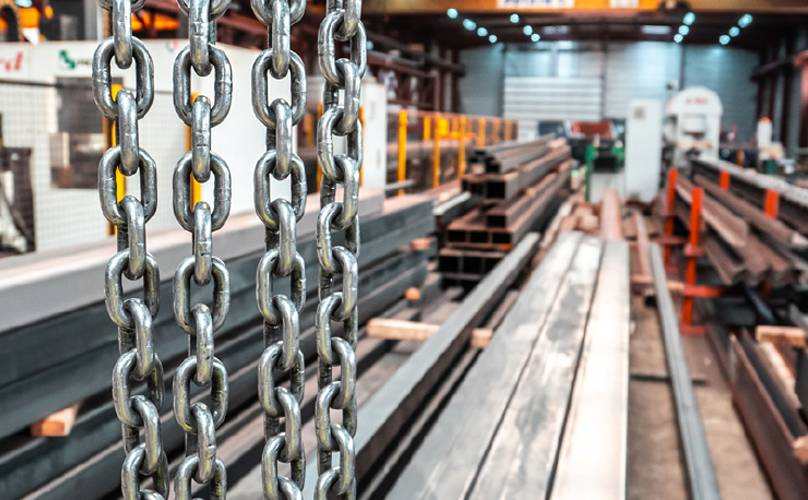 Steel fabrication software with stock management